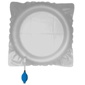 bassin de gonflage à usage unique pour examen radiologique