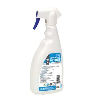 Liquide désinfectant nettoyant vitres