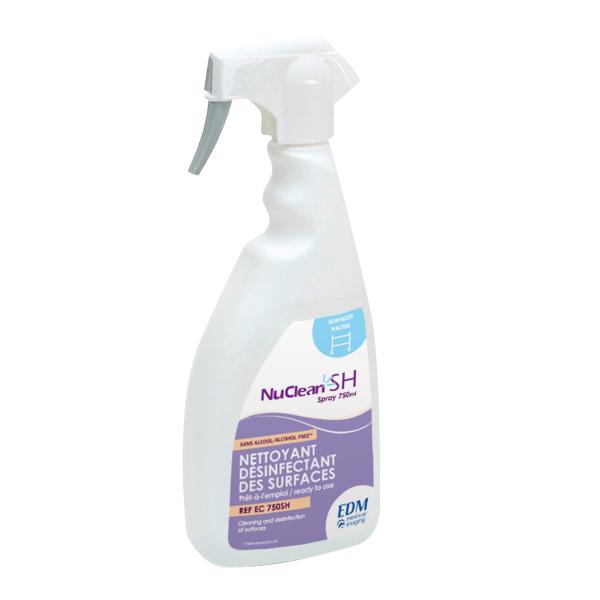 Nuclean SH détergent désinfectant pour surfaces hautes