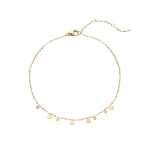 Anklet circles gold