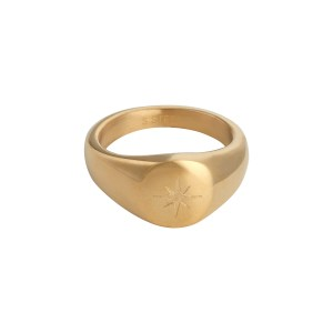 Signet ring Northstar gold
