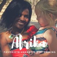 De favoriete vakantiebestemming van Jolanda: Afrika