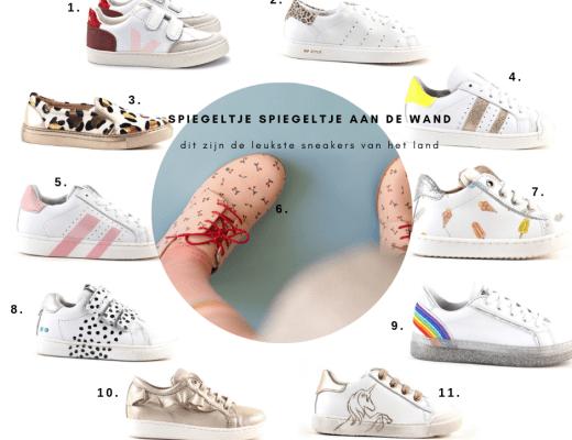 Hippe sneakers voor kinderen