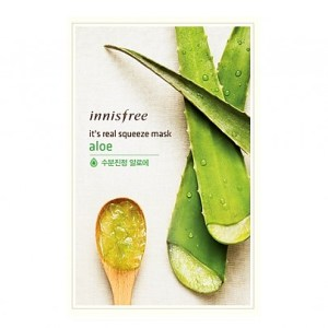 Innisfree It's real squeeze Mask Sheet aloe