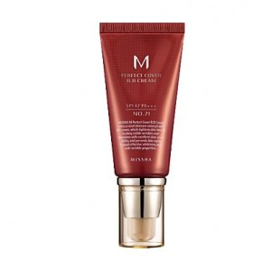 Missha M Perfect Covering BB Cream SPF42 PA+++,No.21 Light Beige, 50ml (Option No.23 Natural Beige)