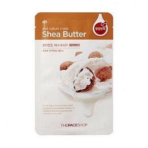 The face shop Real Nature Mask Shea Butter 23g