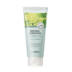 The saem Natural Condition Cleansing Foam #Sebum Controlling 150ml
