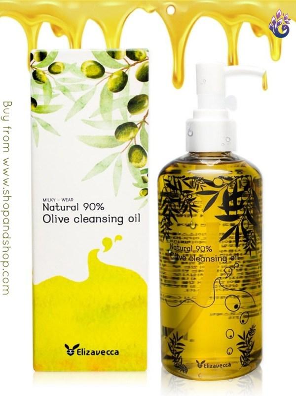 elizavecca-milky-wear_natural-Olive_cleansing_oil_shopandshop-india
