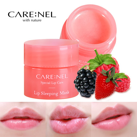 CARENEL Lip Sleeping Mask 1 ~ 5pcs Lot Maintaining moist lips all day long (4)