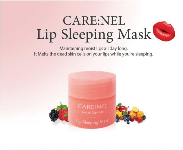 CARENEL Lip Sleeping Mask 1 ~ 5pcs Lot Maintaining moist lips all day long (8)