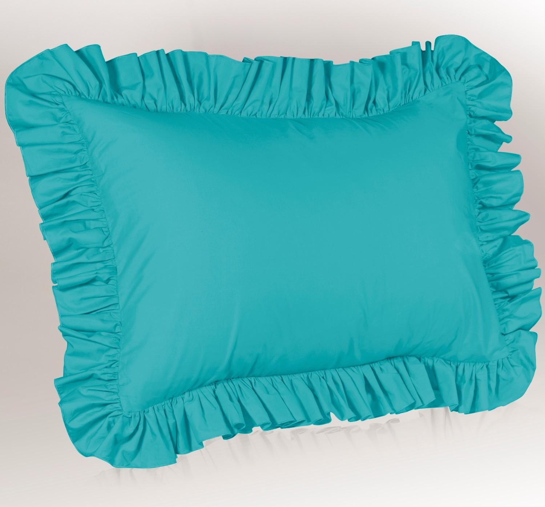 solid ruffled bedskirts shams ensemble