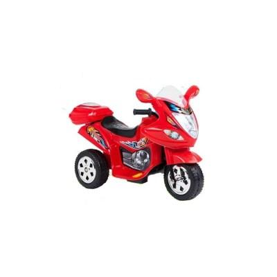 MOTO CAVALCABILE ROSSO/GIALLO/BLU LUCE E SUONO (