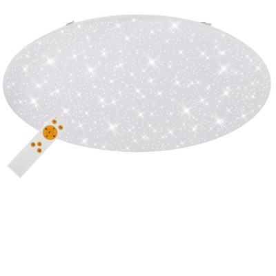 VERB - PLAFONIERA DIAM. 76 CM 1 LED 80 WATT 6500 LUMEN - DIMMERABILE - EFFETTO CIELO STELLATO