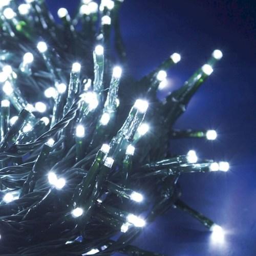 FILO 200 LED BIANCO 8 GIOCHI DA ESTERNO 16M FILO