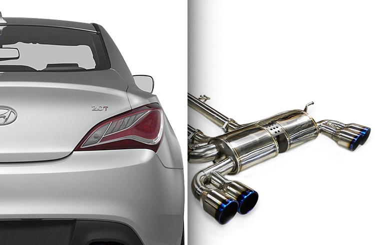 ark performance dts exhaust system for 2010 12 hyundai genes