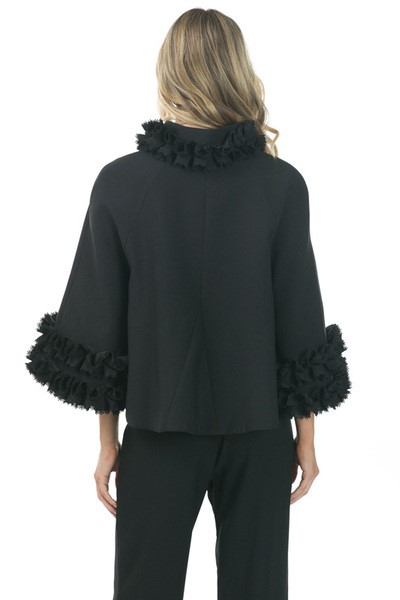 Black Olivia Jacket 1a