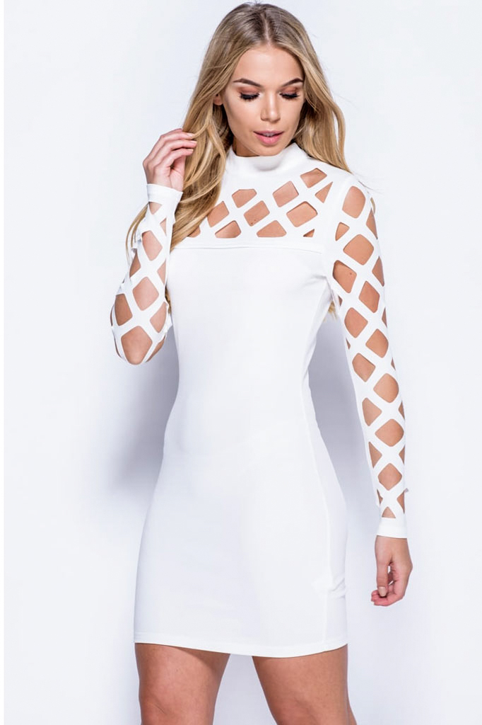 bf988e194e8 White Bandage Dress - Shop Claudia Myers Boutique
