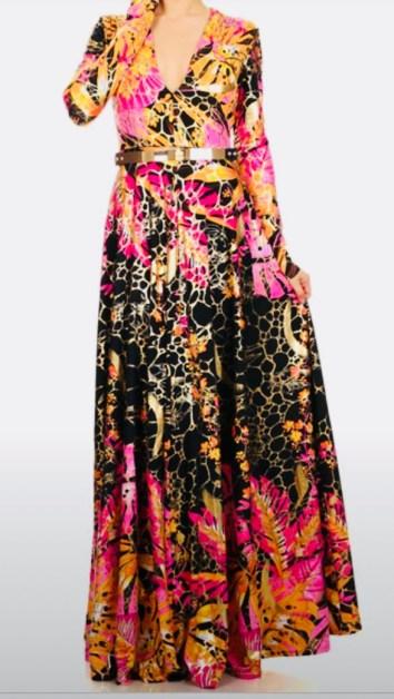 Gala Victorian Maxi Dress