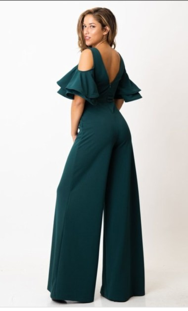 Avri Hunter Green Jumpsuit 4