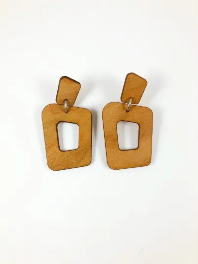 statement bold dangle earrings