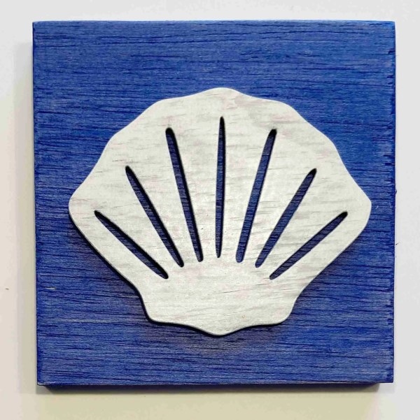 seashell nautical decor ocean decor seashell sign