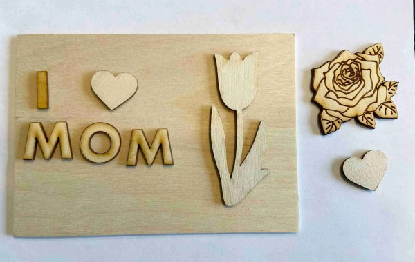Mother's Day 3D paint kit