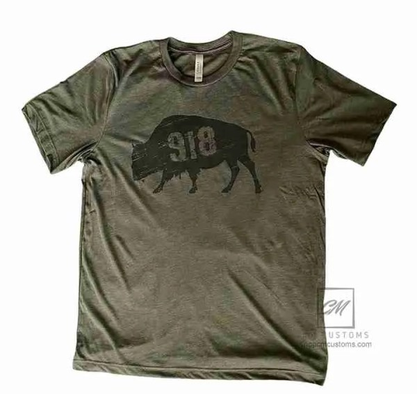 918 buffalo t-shirt green