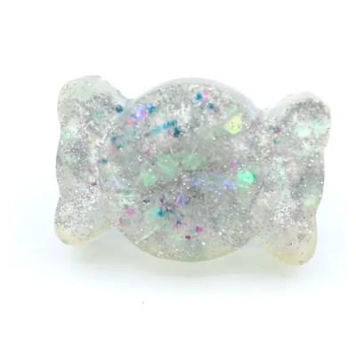 chunky confetti bow ring