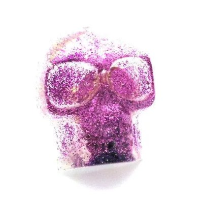 purple skull ring dirty celebrity