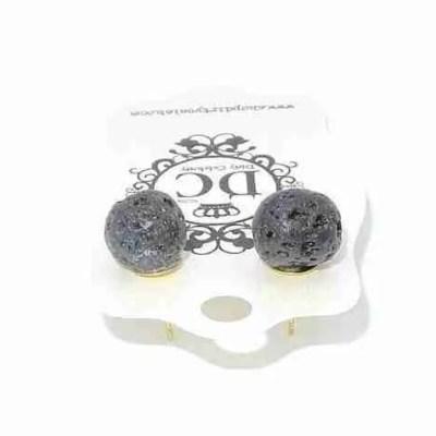 crater earrings