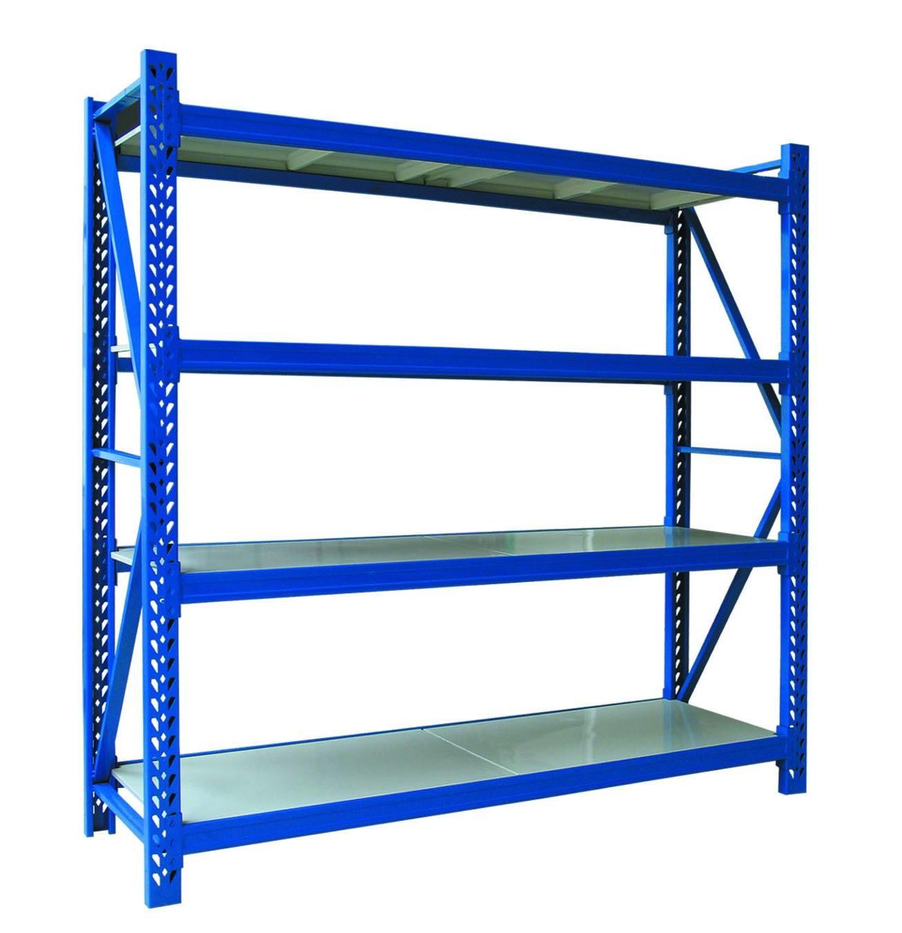 Flexible Metal Warehouse Shelving Industrial Storage Racks