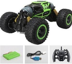 2.4Ghz 4WD Remote Control Electric Crawl Off Road Truck High Speed Racing Climbing RC Monster Vehicle RC Transform Stunt Car33cm - ShopeeBazar