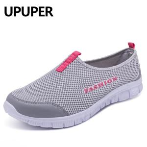 Breathable Mesh Summer Shoes Woman Comfortable Outdoor Sport Sneakers - ShopeeBazar