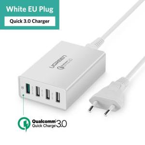 34W USB Charger Quick Charge 3.0 Fast Mobile Phone Charger - ShopeeBazar