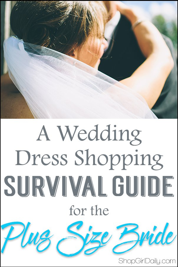 A Wedding Dress Shopping Survival Guide for the Plus Size Bride