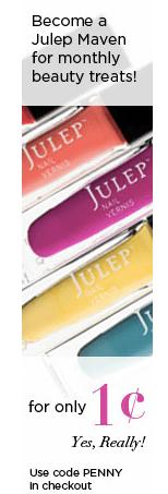 Julep coupon
