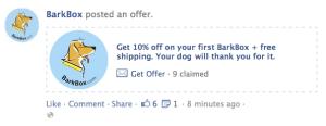 Bark Box coupon