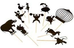 Moulin Roty Circus Shadow Puppets - Gifts for Kids - #ffgiftguide