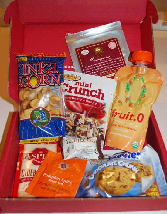Love with Food November box
