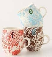 Monogram Mug - Stocking Stuffers for Women - FantabulouslyFrugal.com 2012 Holiday Gift Guide - #giftguide #stockingstuffers