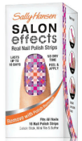 Sally Hansen Salon Effects Nail Polish Strips - Stocking Stuffers for Women - FantabulouslyFrugal.com 2012 Holiday Gift Guide - #giftguide #stockingstuffers