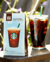 Starbucks Via Iced Coffee - Stocking Stuffers for Men - FantabulouslyFrugal.com 2012 Holiday Gift Guide - #giftguide #stockingstuffers