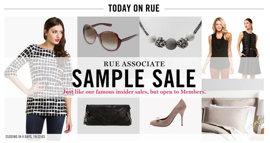 Rue Associates Sample Sale