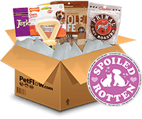 Petflows Spoiled Rotten Subscription Boxes for Dogs and Cats