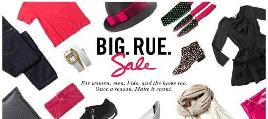 Big Rue Sale