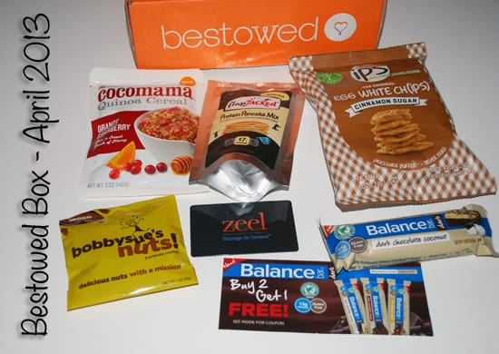 Bestowed Box Review - April 2013
