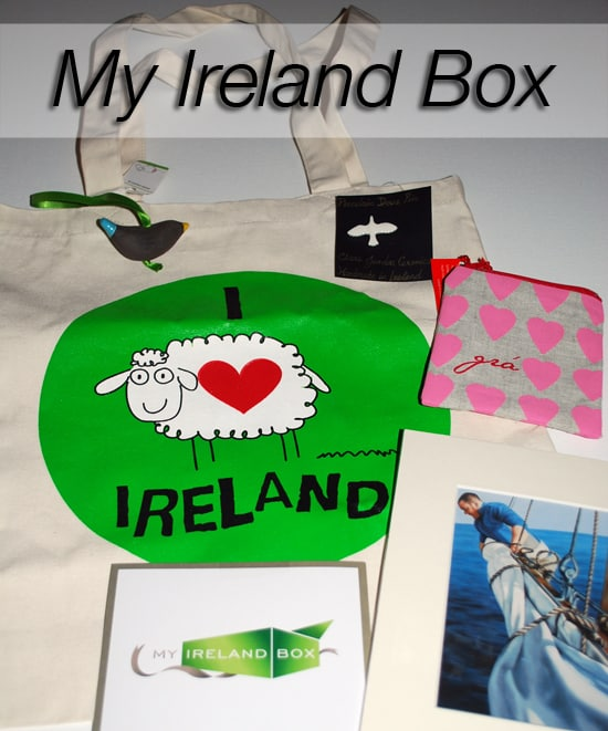 My Ireland Box - Subscription box review