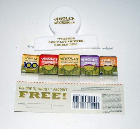 Wholly Guacamole free coupon