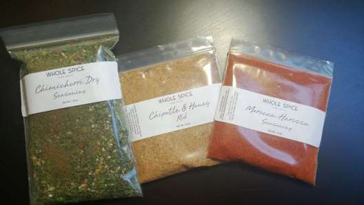 Whole Spice from Napa Valley