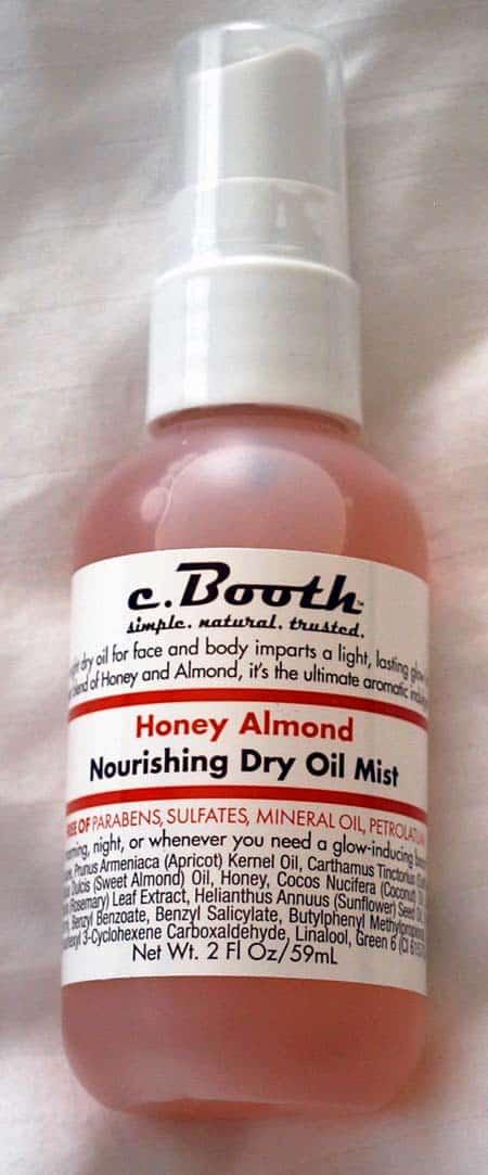 C.Booth Honey Almond Nourishing Dry Oil Mist